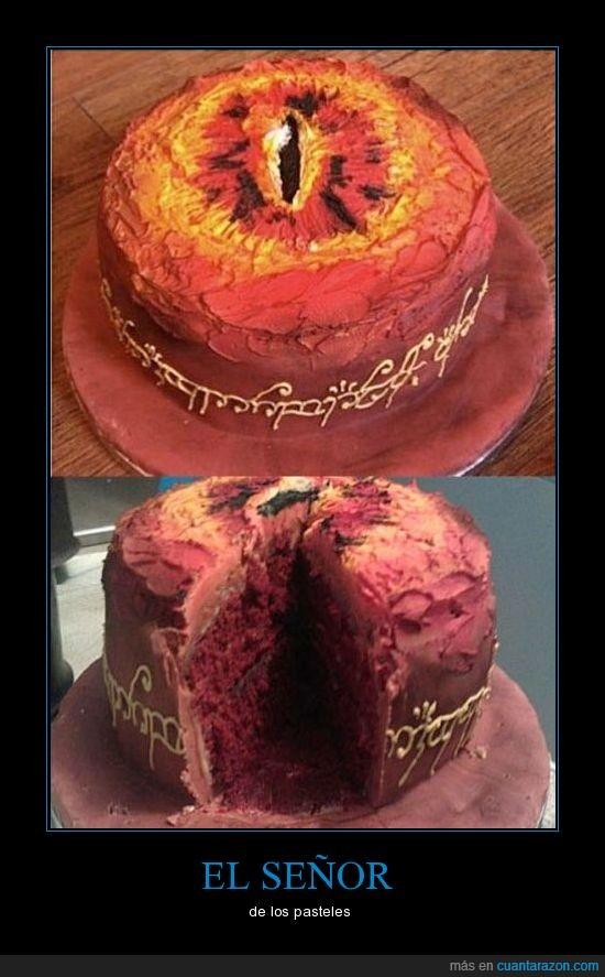 anillos,pastel,señor