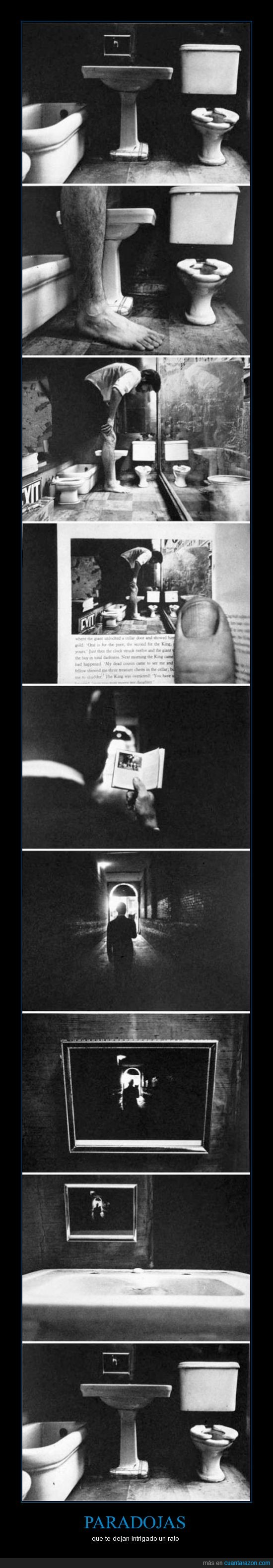 baño,dentro,foto,inception,libro,paranoia,persona