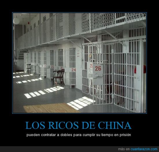carcel,china,condena,doble,paga,prision,rico