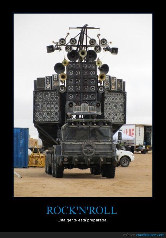 altavoces,amplificador,coche,rock