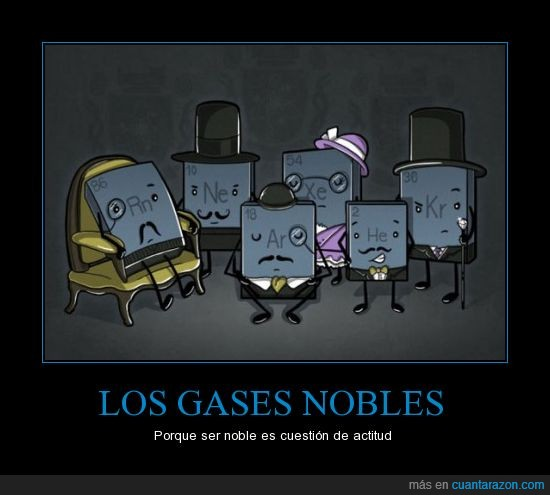 épico,feel like a sir,gases nobles,ilustración,legen (espera un momento) DARIO,química