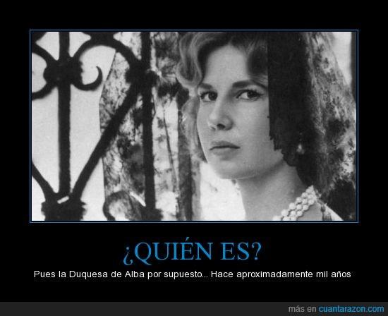 Alba,Duquesa,joven