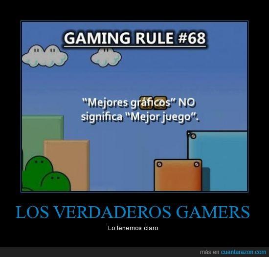 gamer,gaming rule,Gráficos,mario,videojuego