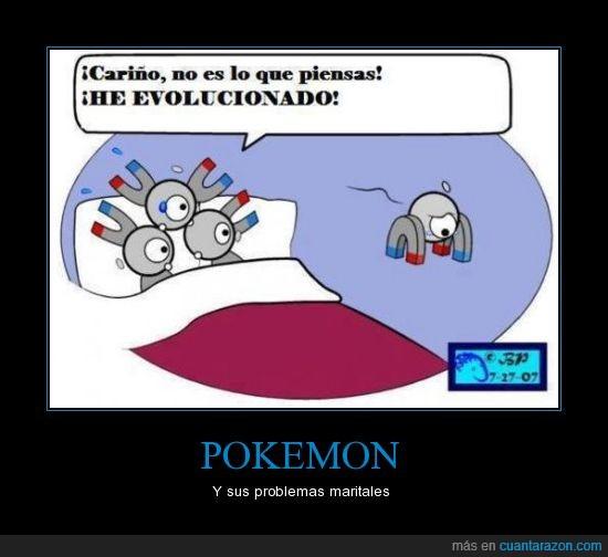 evolucion,magnemite,magneton,matrimonio,pokemon