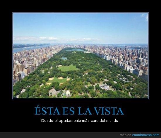 caro,hay que tener ganas de tirar el dinero,manhattan,nueva york,rascacielos,vista