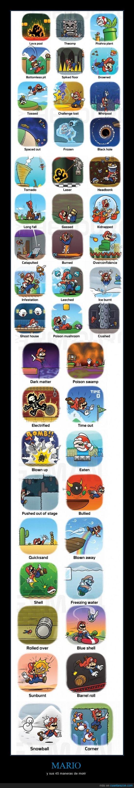 games,juegos,mario,muerte,nintendo,video