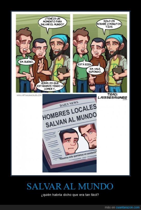 comer,greenpeace,heroes,salvar el mundo,sandwich