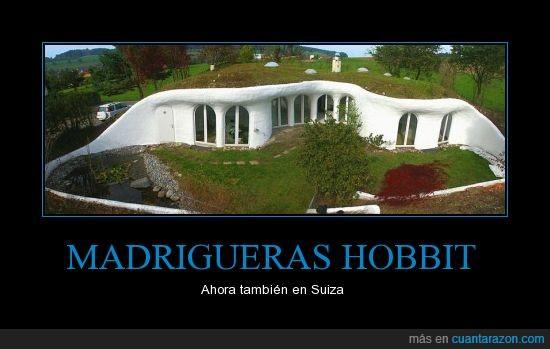 Casa cueva,Hobbit,Suiza