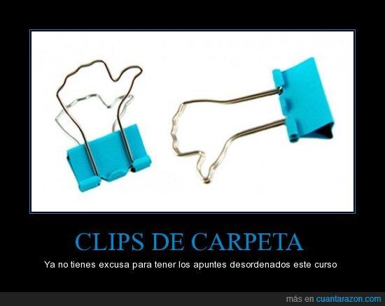 carpeta,clips,divertidos,gustar
