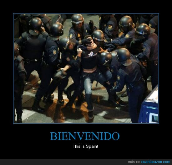 25S,cargas policiales,democracy not found,Justicia?,ThisIsSpain