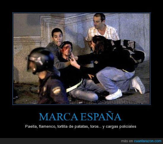 25S,España,policías con armadura,policías grises,vergüenza