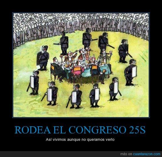 25 septiembre 2012,25s,indignados,madrid,policia,rodea el congreso
