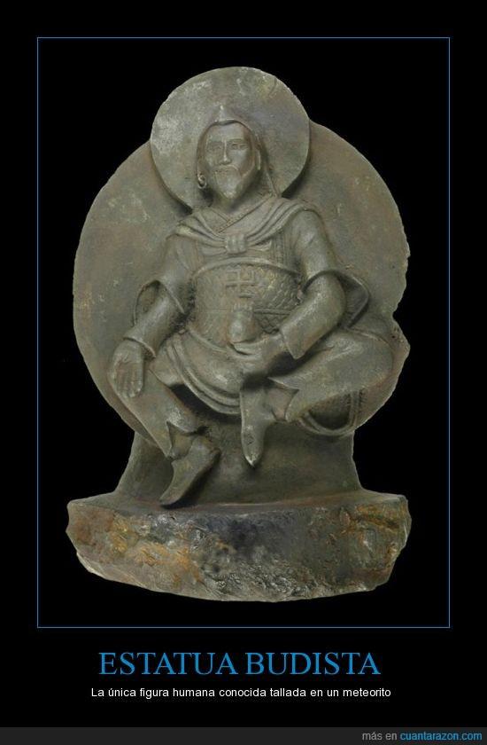 1000 años,deidad budista,meteorito,robada por nazis