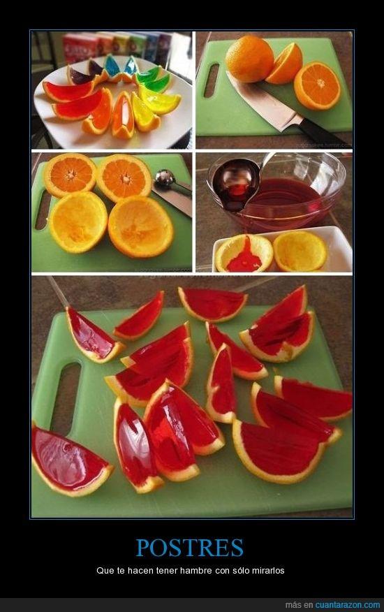 colores,delicioso,gelatina,naranja,postre,Puke Rainbows,si me gustan los postres