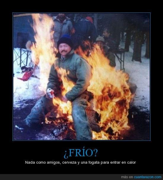 amigos,arde,Cerveza,Frío,fuego,llama,ruso seguro