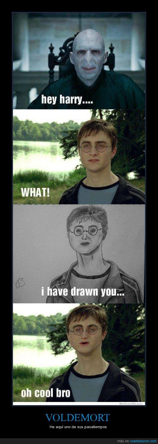dibujo,Harry,nariz,pasatiempo,potter,voldemort