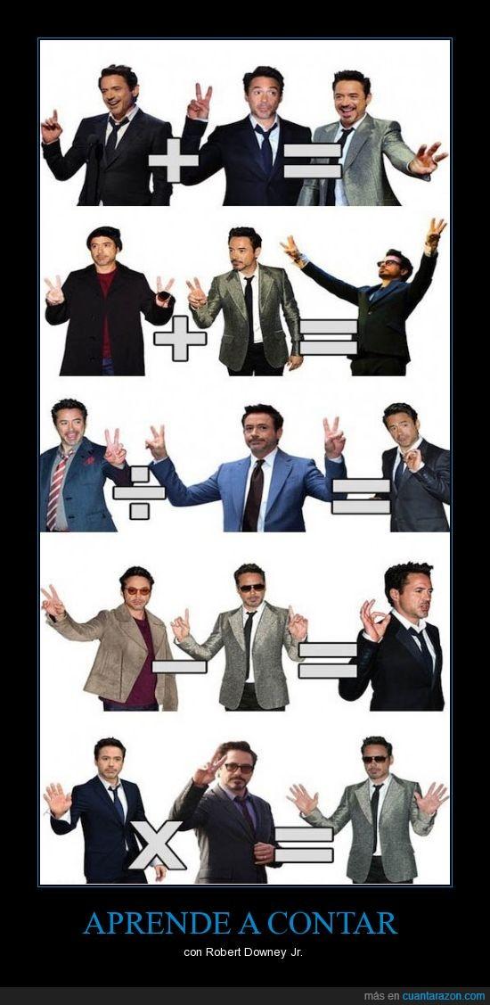 actor,enseñar,Iron Man,matematicas,RDJ,Robert Downey Jr,Tony Stark