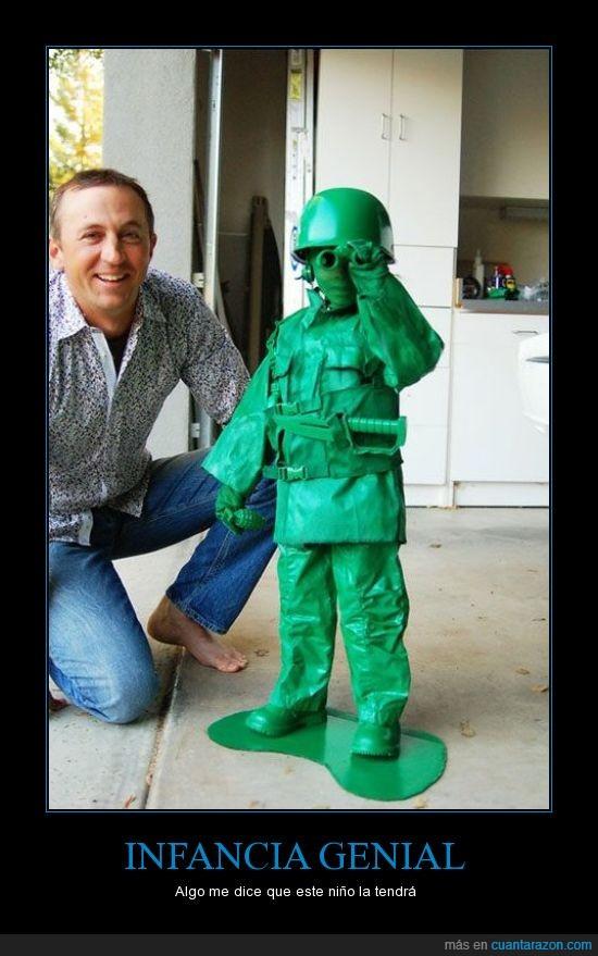 friki,militar,muñeco,papas,plastico,soldados,toy story,verde
