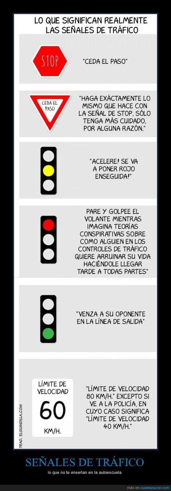 autoescuela,ceda,semaforo,semaforos,señales,stop,trafico,velocidad
