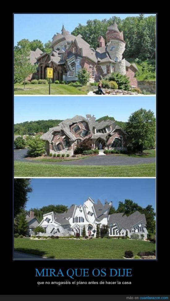 arquitecto,arquitectura,arrugado,casa,esquina,forma,locura,pico,plano