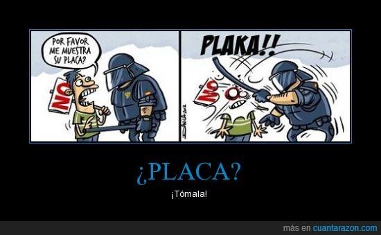15M,ACAB,placa,policia