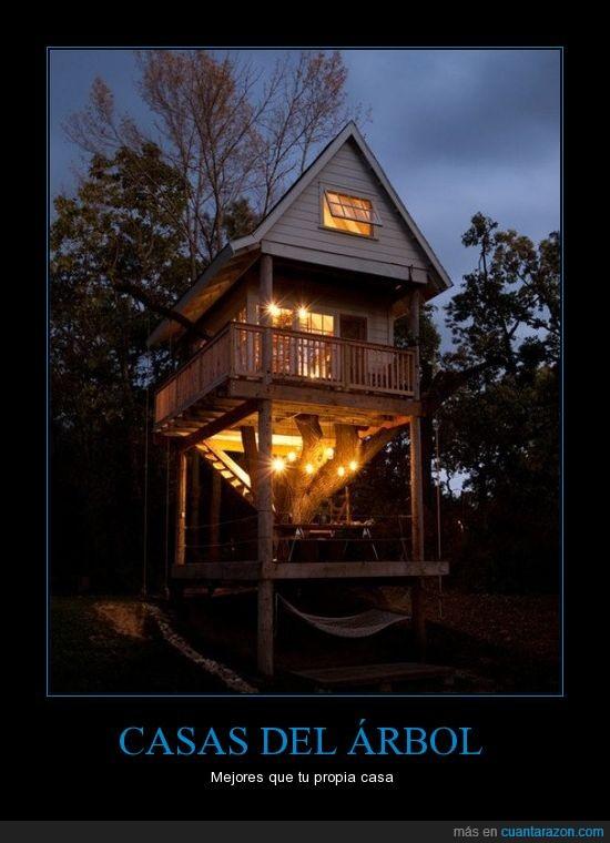 arbol,bajo el puente no tenemos esas ventanas,bonta,casa,enorme,mi futura casa será la mitad de eso