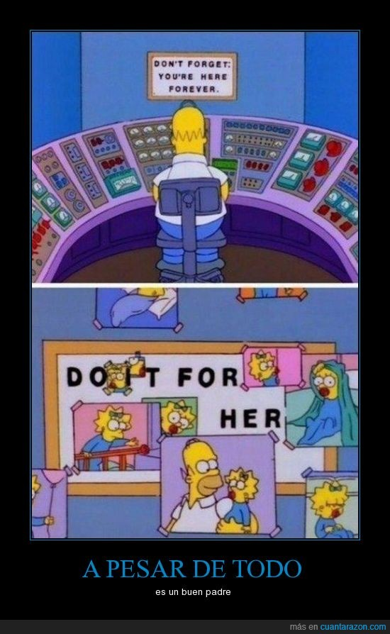 do it for her,fotografias,homer,los simpson,maggie