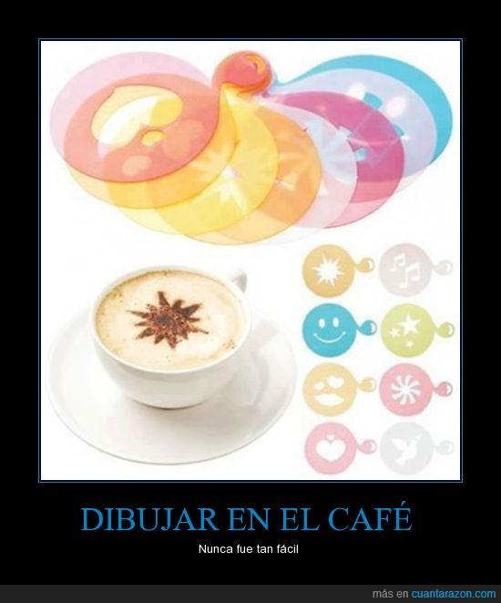 cafe,cara,chocolate,corazon,estrella,forma,musica,plantilla