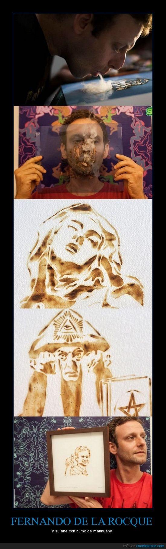 arte,fernando,humo,marihuana,rocque