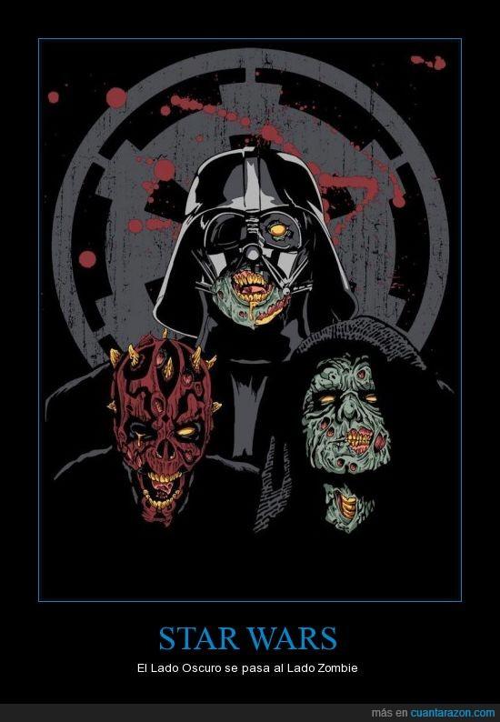 darth,maul,sidious,star wars,vader,zombie