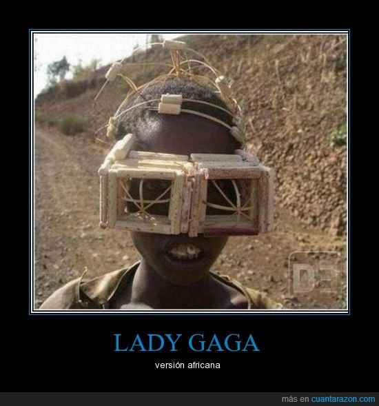 africa,gafas,lady gaga,niño,put your paws up