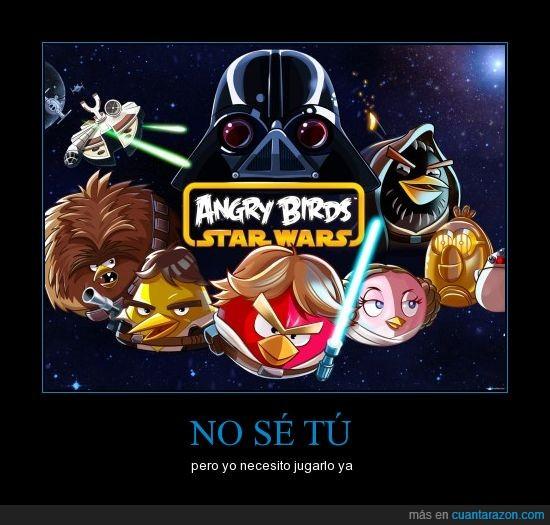 angry birds,espacio,jugar,star wars