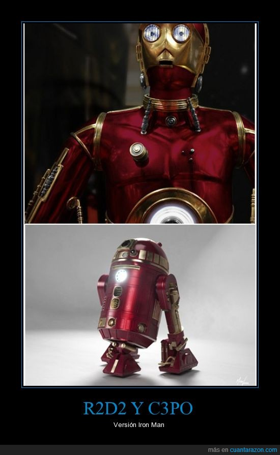 c3po,iron man,r2d2,star wars