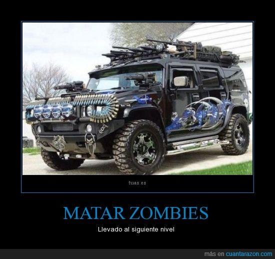 apocalipsis.camioneta,hollywood,metralladoras,tunning,zombies