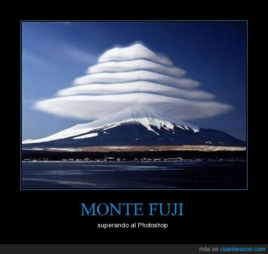 fuji,impresionante,Japòn,monte,photoshop