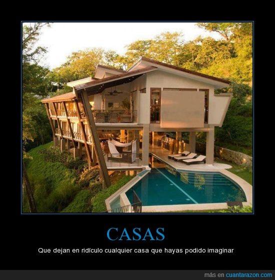 bonita,casa,con una como esa me conformo,impresionante,lujosa,montaña,piscina