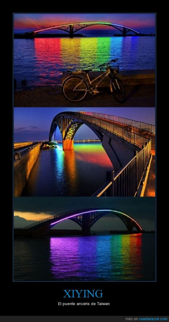 arcoiris,puente,taiwan,Xiying