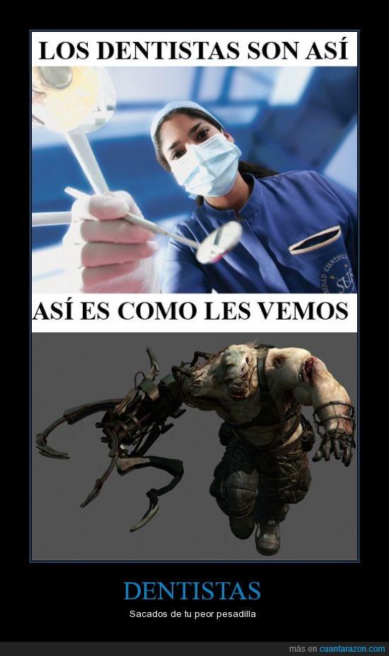 aterrador,dentistas,monstruos,resident evil,ustanak