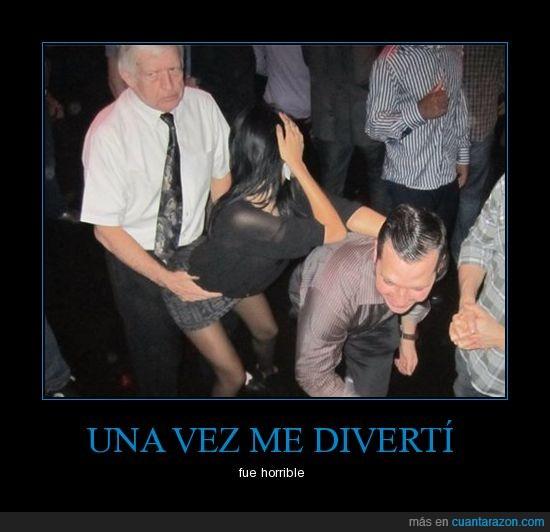 abuelo,bailando,diversión,perreando