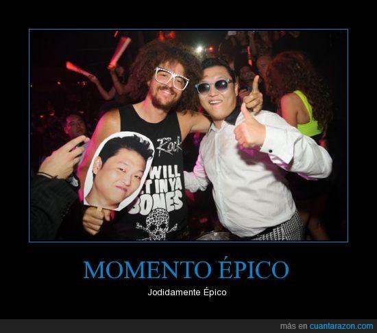 gangnam style,lmfao,Momento Épico,psy,redfoo