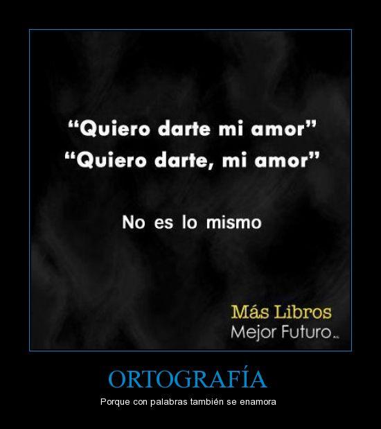 amor,leer,libros,ortografía