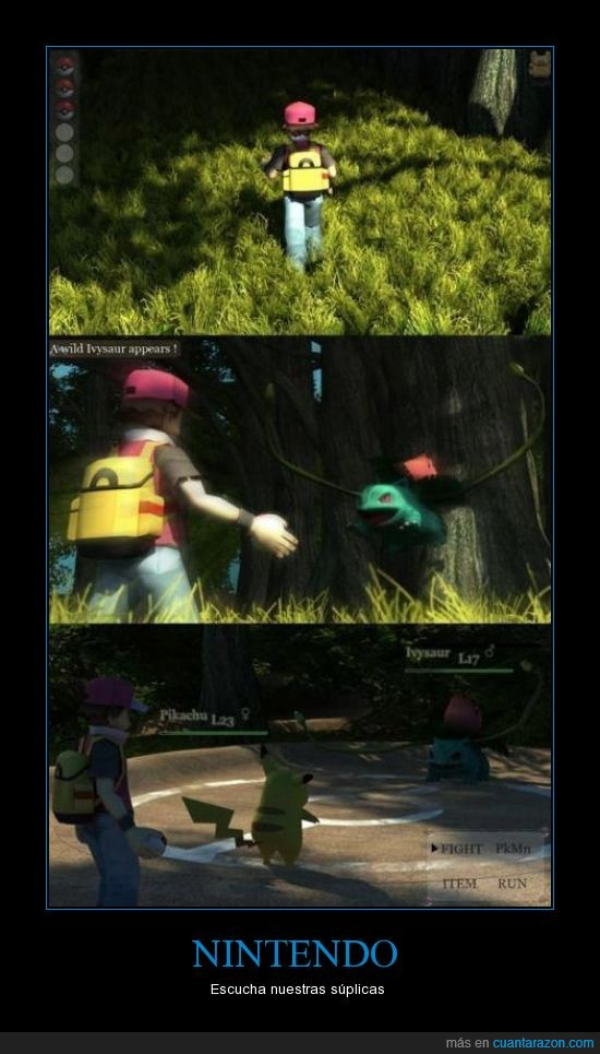 bulbasaur,nintendo,pikachu,pokemon,red,si lo sacan vendo a mi familia por partes y me lo compro