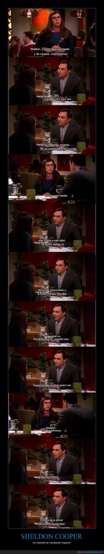 conquistar,frase,ligar,mujeres,Sheldon Cooper,Spiderman,TBBT