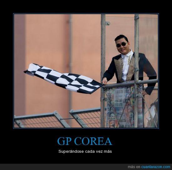 Corea,GP Corea,oppa gangnam style,psy