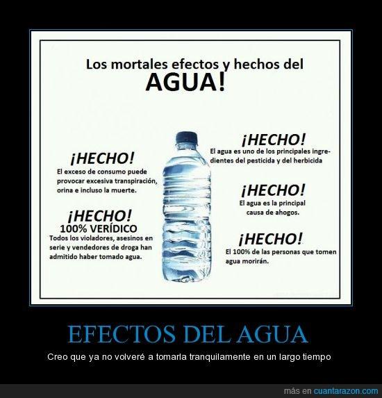 agua,efecto,fuente muy fiable,hecho,mortal,muerte