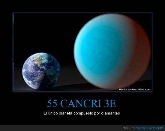 55 Cancri 3e,admitelo quieres todos esos diamantes,diamantes,planeta,tierra