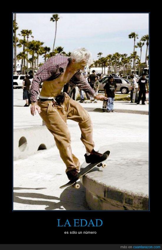 abuelo,anciano,hombre,mayor,señor,skate,skater