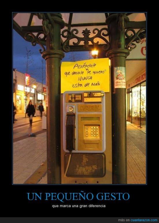acuerdate,cabina,decir,llama,te quiero,telefono