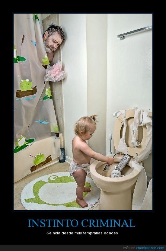 baño,calendario,el mejor padre del mundo,niña