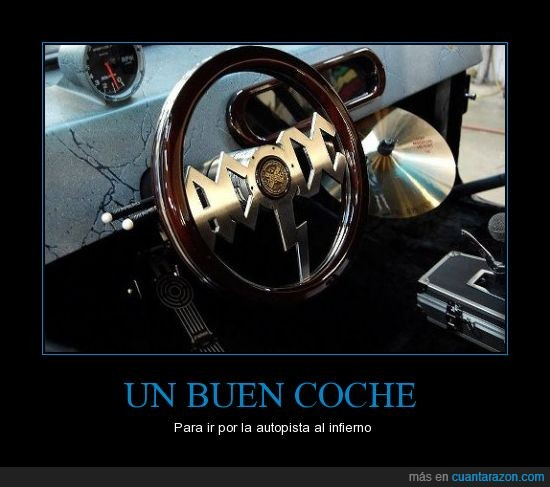 AC/DC,Coche,Highway to hell,volante